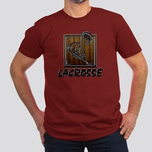 Lacrosse Men's Fitted T-Shirt (dark)