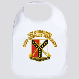 DUI - 1st Squadron - 61st Cavalry Regiment With Te