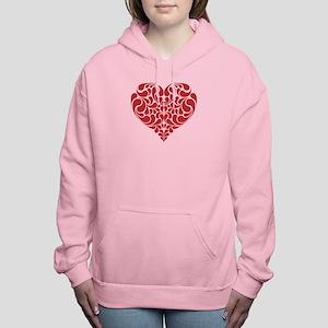 Real Heart Women's Hooded Sweatshirt