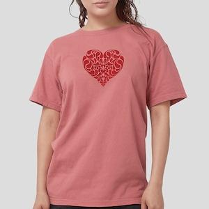 Real Heart Womens Comfort Colors Shirt