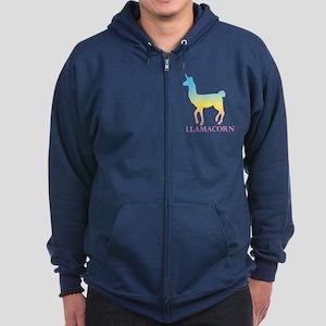 Llamacorn Zip Hoodie