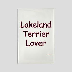 Lakeland Terrier Lover Rectangle Magnet