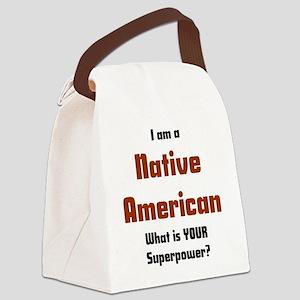 i am native american Canvas Lunch Bag