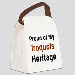 iroquois heritage Canvas Lunch Bag