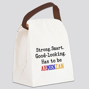 be armenian Canvas Lunch Bag