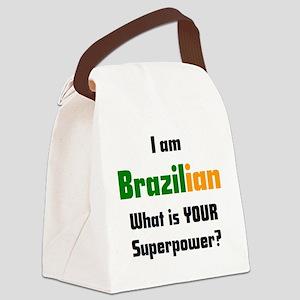 i am brazilian Canvas Lunch Bag