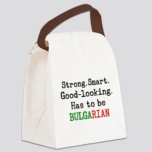 be bulgarian Canvas Lunch Bag