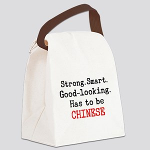 be chinese Canvas Lunch Bag