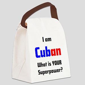 i am cuban Canvas Lunch Bag