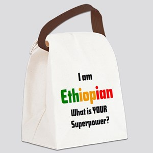 i am ethiopian Canvas Lunch Bag