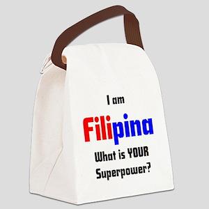 i am filipina Canvas Lunch Bag