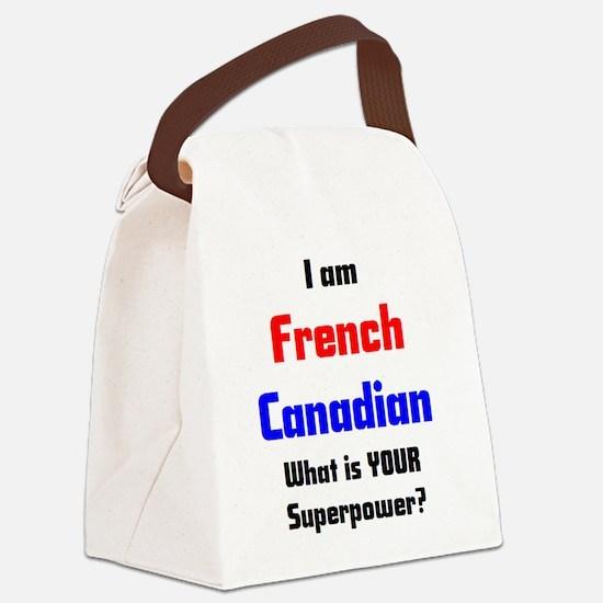 Cute Canadian Canvas Lunch Bag