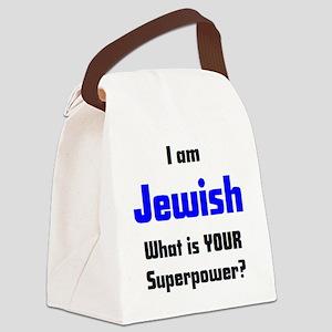 i am jewish Canvas Lunch Bag