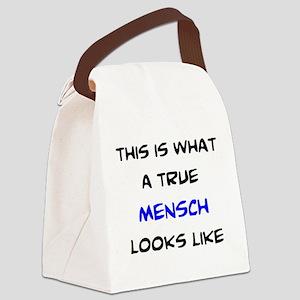 true mensch Canvas Lunch Bag