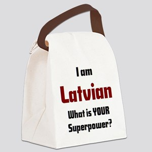 i am latvian Canvas Lunch Bag