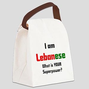 i am lebanese Canvas Lunch Bag