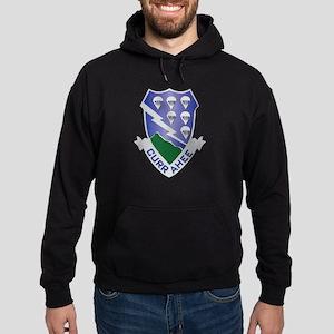 DUI - 2nd Bn - 506th Infantry Regiment Hoodie (dar