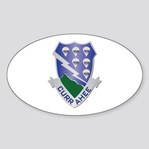 DUI - 2nd Bn - 506th Infantry Regiment Sticker (Ov