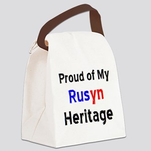 rusyn heritage Canvas Lunch Bag