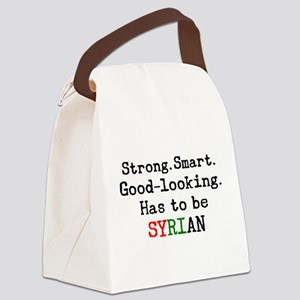 be syrian Canvas Lunch Bag