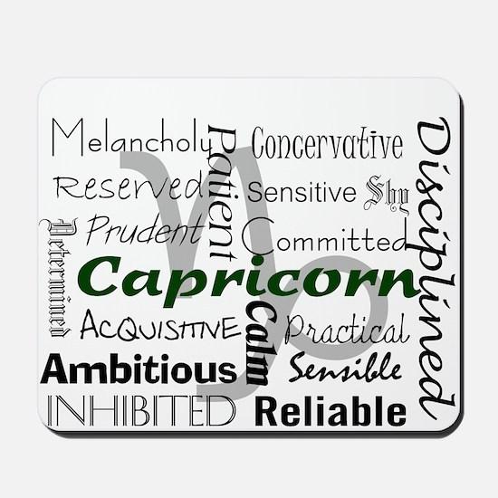 Capricorn Mousepad