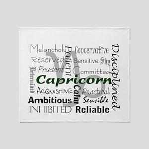 Capricorn Throw Blanket