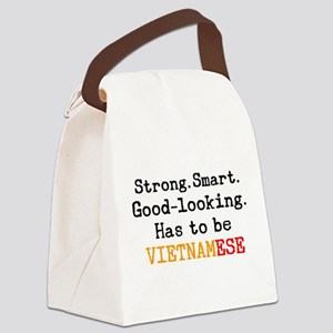 be vietnamese Canvas Lunch Bag