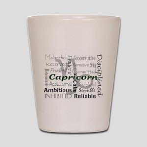 Capricorn Shot Glass