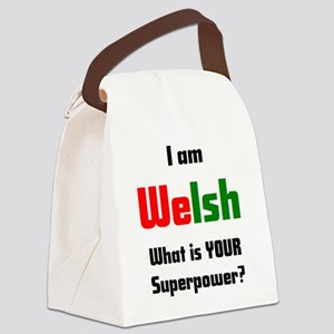 i am welsh Canvas Lunch Bag
