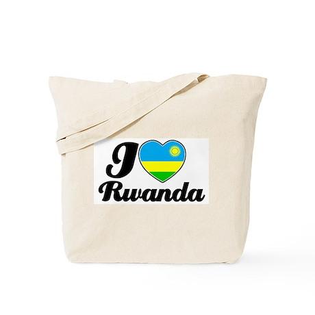 I love Rwanda Tote Bag