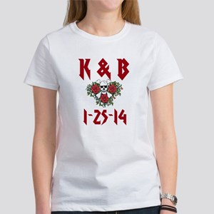 Personalized Dates Monogram T-Shirt