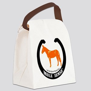 Mule Sense and Other Equines Canvas Lunch Bag