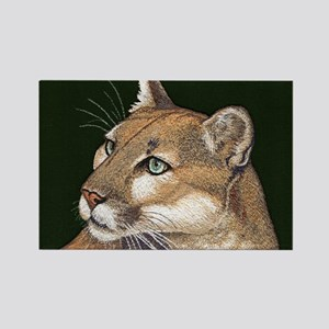 Mountain Lion Rectangle Magnet