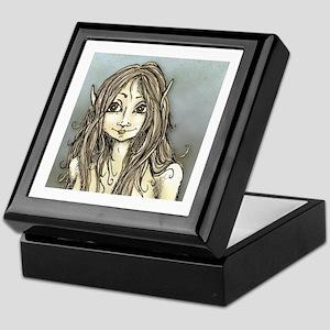 Rayza Fairy in Earth Tones Keepsake Box