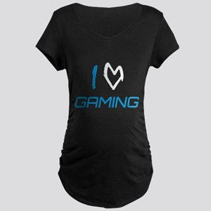 i heart gaming Maternity T-Shirt