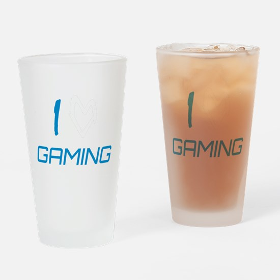 i heart gaming Drinking Glass