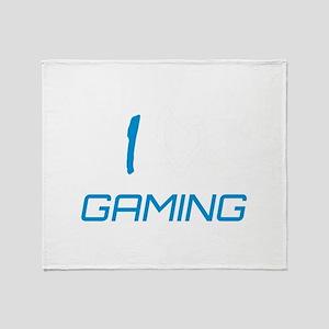 i heart gaming Throw Blanket