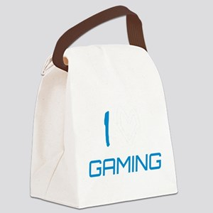 i heart gaming Canvas Lunch Bag