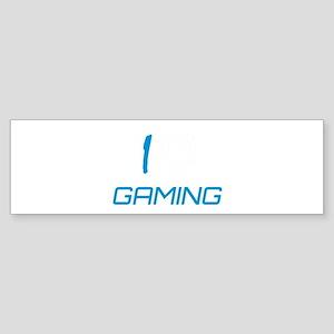 i heart gaming Bumper Sticker