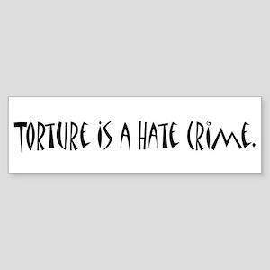 Torture Bumper Sticker
