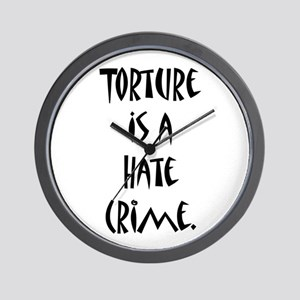 Torture Wall Clock