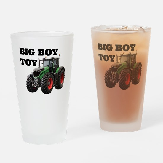 Cool Green tractor Drinking Glass
