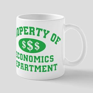 Property Of Economics Department Mug