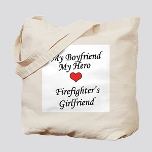 Firefighter's Girlfriend Tote Bag