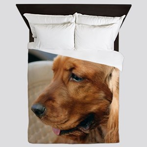 Cocker Spaniel dog Queen Duvet