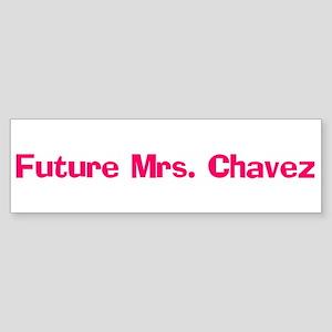 Future Mrs. Chavez Bumper Sticker