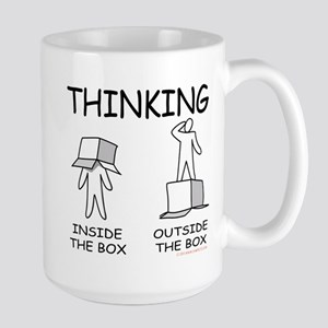 Thinking Inside the Box versus Outside the Box Mug