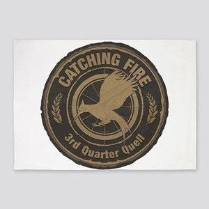 Catching Fire 3rd Quarter Quell 5'x7'Area Rug