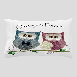 Owlways & Forever Cute Owls art Pillow Case