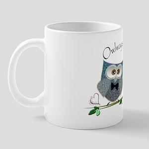 Owlways & Forever Cute Owls art Mug